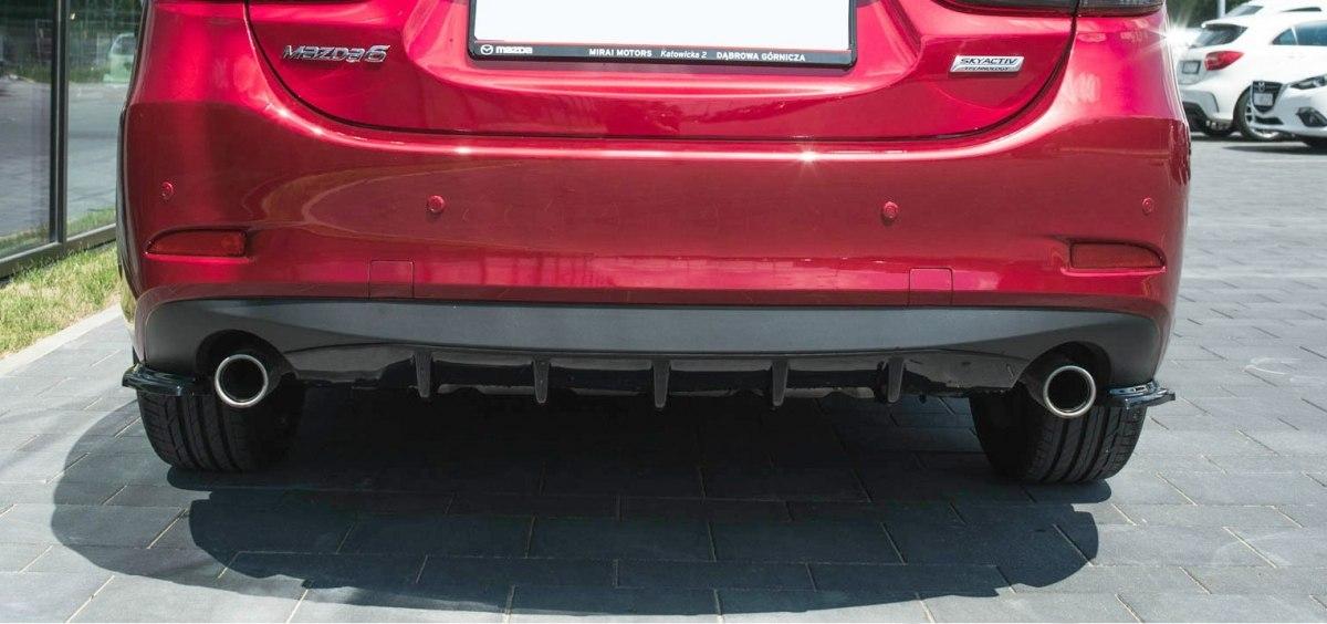 Splittery Tylne Boczne Mazda 6 GJ (Mk3) Facelift - GRUBYGARAGE - Sklep Tuningowy